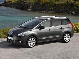 Peugeot 5008: Výbavy Premium a Premium Pack v akci o 30 tisíc Kč levnější