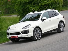 Porsche Cayenne S: První jízdní dojmy