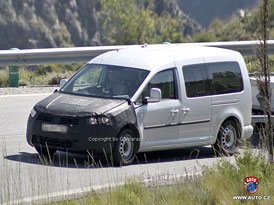 Spy Photos: Volkswagen Caddy - nov� tv�� i pro d���e