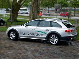 Audi Travolution: Zelená vlna čtyř kruhů