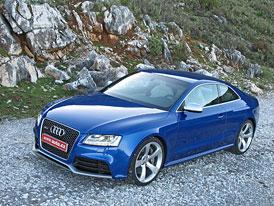 Audi RS5 Coupé: První jízdní dojmy