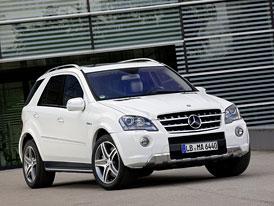Mercedes-Benz ML 63 AMG: Po dvou letech další facelift