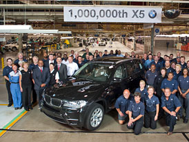 BMW X5: Německo-americké SUV má na kontě milion