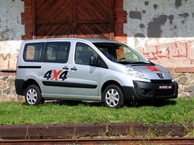 Peugeot Expert 4x4 Dangel: Ceny na českém trhu