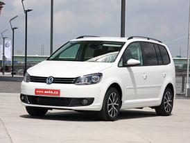 Volkswagen Touran 1,2 TSI: První jízdní dojmy