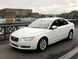 Volvo S80 a V70: S kr�lovskou korunkou na svatbu �v�dsk� princezny