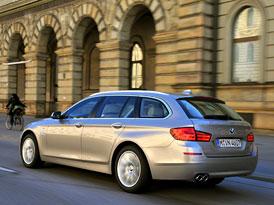BMW 5 Touring: Nov� fotografie, technick� data, �esk� ceny