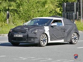 Spy Photos: Hyundai Veloster - malé kupé proti VW Scirocco a Hondě CR-Z