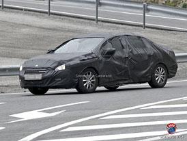 Spy Photos: Peugeot 508 - Návrat do role francouzského Mercedesu?