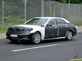 Spy Photos: Mercedes-Benz S (W222) - Nová limuzína přijde v roce 2012