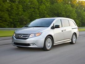 Honda Odyssey 2011: Čtvrtá generace pro americký trh