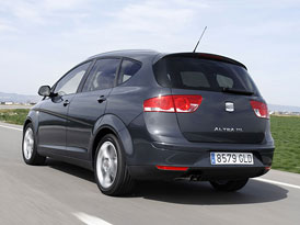 SEAT Altea XL nyní již za 320.900,-Kč, 1,2 TSI (77 kW) za 367.900,-Kč se 6 airbagy, ESP a klimatizací