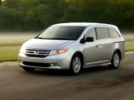 Video: Honda Odyssey 2011 – Karoserie nového MPV