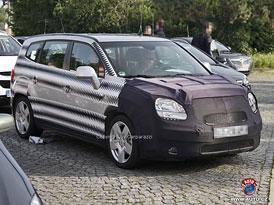 Spy Photos: Chevrolet Orlando - Sériová podoba téměř bez maskování