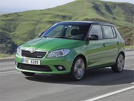 Škoda Auto začala vyrábět Fabie RS a Fabie Greenline II
