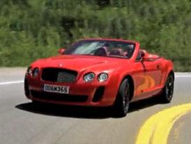 Video: Bentley Continental Supersports Convertible – Kabrio na projížďce