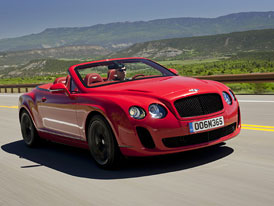 Bentley Continental Supersports: Nov� fotky otev�en�ho Convertible