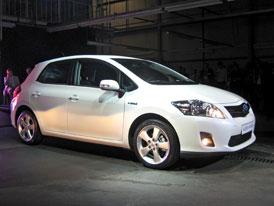 Toyota zahájila ve Velké Británii výrobu hybridního Aurisu HSD