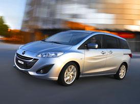 Mazda 5: Nové informace a fotografie modernizovaného MPV
