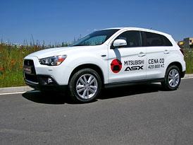 Mitsubishi ASX: První jízdní dojmy, kompletní ceník pro český trh