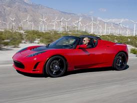 Tesla Roadster 2.5: Premiéra na dvou místech současně