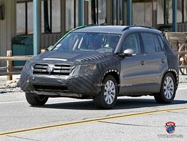 Spy Photos: Volkswagen Tiguan - Poslední s obloučky
