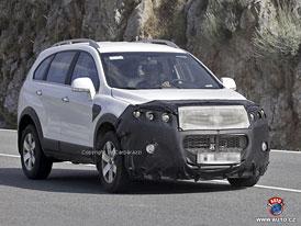 Spy Photos: Opel Antara - Nečekaný obrat