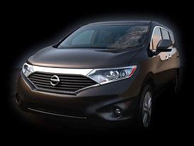Nissan Quest: Nové velké MPV pro Ameriku