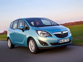 Opel Meriva: Škála motorů CDTi je kompletní (55-96 kW)