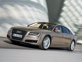 Audi A8 L W12 quattro: Dlouhá karoserie s krátkým dvanáctiválcem (nové fotografie)