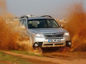 Subaru Forester 2,5X: Silnější atmosféra na českém trhu