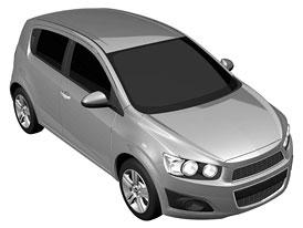 Chevrolet Aveo 2011: Předčasné odhalení exteriéru