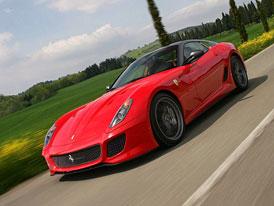 Ferrari 599 GTO: Nejrychlejší Ferrari na nových fotografiích