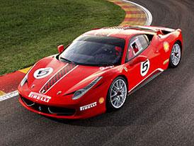 Ferrari 458 Challenge představeno, od sezóny 2011 na závodních tratích
