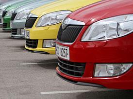 Český trh v prvním pololetí 2010: V malých vozech následují Fabii dva modely Fordu