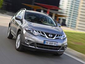 Nissan Murano 2,5 dCi na českém trhu za 995.000,- Kč