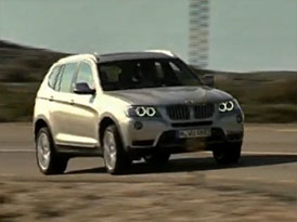 Video: BMW X3 2011 – Nové SUV na silnici