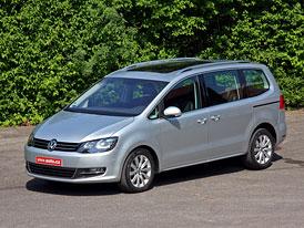 Volkswagen Sharan: První jízdní dojmy