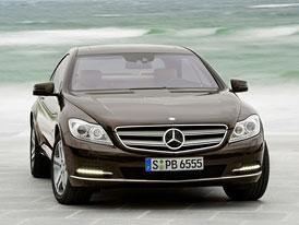 Mercedes-Benz CL: Blind Spot Assist a Lane Keeping Assist, nové aktivní asistenční systémy