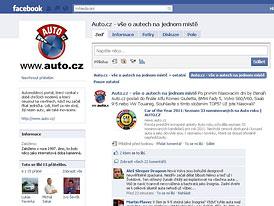 Auto.cz na Facebooku: Vítáme prvních 7.000 fanoušků