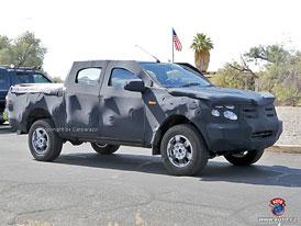 Spy Photos: Ford Ranger T6 - Nová generace
