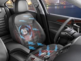 Opel Insignia: Odvětrávaní pro sedadla Premium AGR