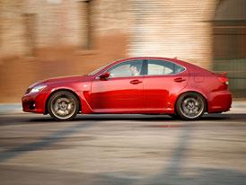 Lexus IS-F: Změny na podvozku, řízení a designu pro modelový rok 2011