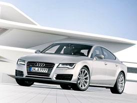 Audi A7: První foto a informace, premiéra večer