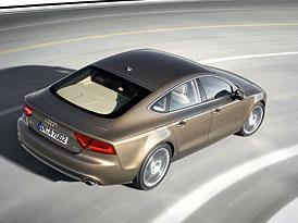 Audi A7 Sportback: Oficiální fotografie a technická data