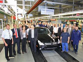 Mercedes-Benz CLS: Konec výroby první generace