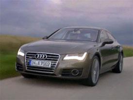 Video: Audi A7 Sportback � Nov� model za j�zdy