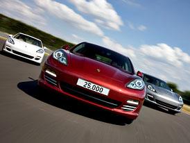 Porsche Panamera: V Lipsku vyrobili už 25 tisíc kusů