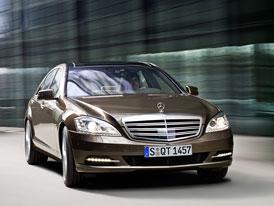 Mercedes-Benz S 350 BlueTec: Vylepšený turbodiesel s vyšším výkonem a nižší spotřebou