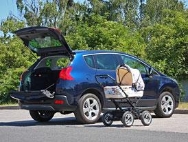 Dlouhodobý test: Peugeot 3008 2,0 HDI – Dítě a kočárek